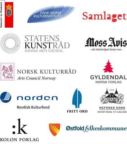Møllebyen litteraturfestival takker sine støttespillere